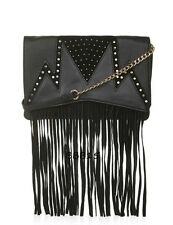 New! Stud and Fringe Crossbody Bag by Topshop