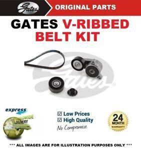 GATES FAN BELT PULLEY KIT for DODGE CALIBER 2.0 CRD 2006->on