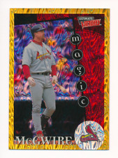 Mark McGwire 1999 Ultimate Victory Parallel 1/1 Missing Serial Number #153