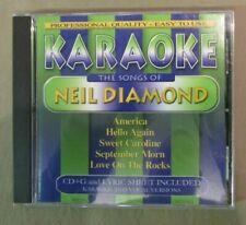 Karaoke - Karaoke - Songs Of Niel Diamond - Cd - Enhanced Karaoke
