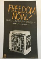 Political OSPAAAL Solidarity Cuban Poster.PRISONERS FREEDOM NOW.Civil Right art