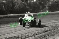 1966 USAC dirt track racing Photo negative Sacramento Gary Bettenhausen