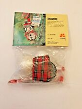 LeeWards Snowman Ornament Art No. 16-47700