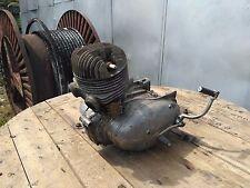 Vintage motorcycle IZH engine 1960s