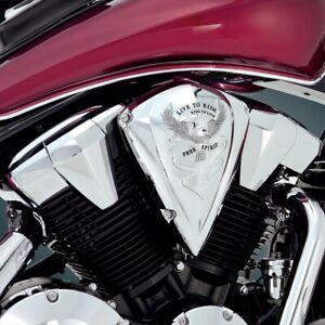 Show Chrome Air Cleaner Cover Free Spirit 55-354