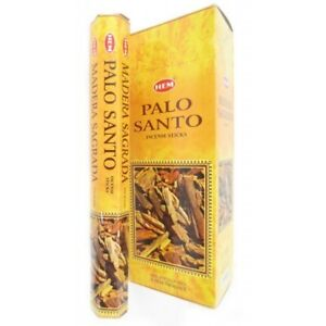 LOT OF 120 Stick PALO SANTO Incense HEM or SAC HOLY WOOD