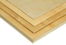 "Aircraft Grade Plywood (Birch/Poplar), 1/16"" x 2' X 4', 3 PLY, 90° Angle"