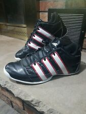 ADIDAS Pro Model Torsion System Black Basketball Shoes Patent Leather Mens 10.5