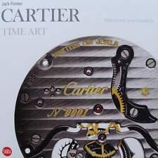 LIVRE/BOOK : CARTIER TIME ART (montre, horloge, pendule, vintage, art deco ..)