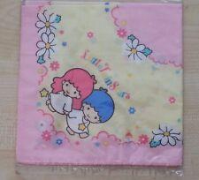 Vintage Sanrio Little Twin Stars handkerchief Kawaii  New Old Stock