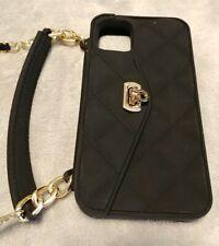 Iphone 11 Wallet Soft Silicone Case Flip Card pouch/ Handstrap & Strap Shoulder