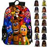 3D Cartoon Five Nights At Freddy's Backpack Chica Foxy School Bag Rucksack
