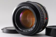 【Excellent++++】 MINOLTA NEW MD 50mm F1.4 from Japan #1602