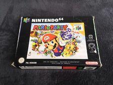 Jeu Nintendo 64 Mario Party EUR Très Bon état, Complet N64