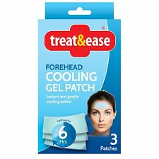 Treat & Ease Forehead Cooling Gel Patch Pad
