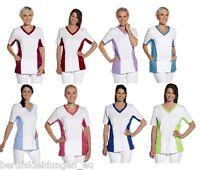 Leiber® Pique Schlupfjacke T-Shirt Kasack 60°C Schwesternkittel Profi 08 2531