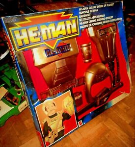 UNIQUE VINTAGE HE- MAN DELUXE DRESS UP PLAYSET MASTERS OF THE UNIVERSE 1986 MIB