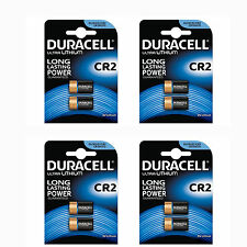 8 x Duracell CR2 3V Ultra Photo Camera Batteries DLCR2 Camera Lithium