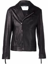 Tillman Lauterbach Premium Leather Moto Jacket - Brand New with Tags