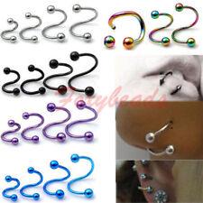 Markenloser Piercing-Schmuck aus Edelstahl für Lippen