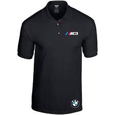 BMW Polo M3 Shirt M Power Beamer Motorsport Car Unisex Black or Grey up to 2XL