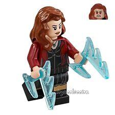 LEGO SUPER HEROES MARVEL  MINIFIGURA SCARLET WITCH SET 76031 ORIGINAL MINIFIGURE