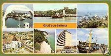 AK lang, Saßnitz Rügen, sieben Abb., 1986