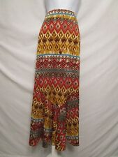 Kim Rogers Long Maxi Skirt Palazzo Comfy Casual Work Office Size  M