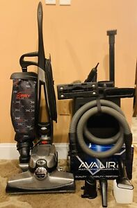 Kirby Avalir Bagged Upright Vacuum Cleaner w/Attachment Set & Shampooer System