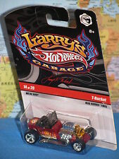 2009 Hot Wheels Larry taller 3-window '34 Ford rojo Persecución 11/20