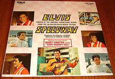 ELVIS PRESLEY SPEEDWAY LP STILL SEALED!