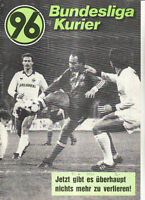 BL 85/86 Hannover 96 - Hamburger SV