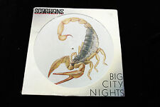 "Scorpions BIG CITY NIGHTS 12"" PICTURE DISC - SEALED MINT 1984 HARVEST"
