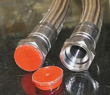 2 ROLLS ROYCE ENERGY SYSTEMS RRE041421 FLEXIBLE BRAIDED HOSE TUBE LINE FITTINGS
