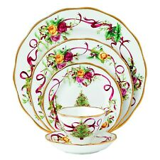 Royal Albert Old Country Roses Christmas Tree 5-Piece Place Setting