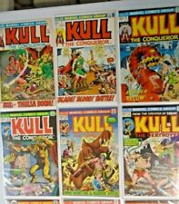 Kull the Conqueror 1st Series 18 Different From:#3-29 Average 7.0 (1972-78)