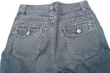 ANGELS Glenda 589 Damen stretch Capri Jeans 3/4 Hose Gr.36 stone wash blau #20