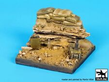 Black Dog 1/35 Trench Section with Sandbags Vignette / Diorama Base WWII D35093