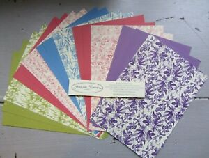 Joanna Sheen Assorted A5 Paper Craft Sheets x 20- Mixed Designs