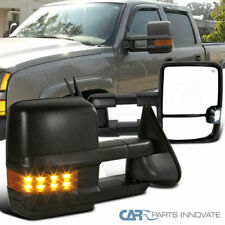 03-06 Silverado Sierra Power Heated Towing View Mirrors+Amber LED Turn Signal