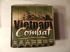 Vietnam Combat 7 Vhs Video Box Set Vietnam War
