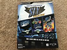 THE SLY COLLECTION by SONY and BRADYGAMES STRATEGY GUIDE - PS3 (2010, PAPERBACK)