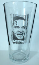 THE SHINING PINT SIZE BEER GLASS Jack Nicholson