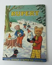 RUPERT Daily Express Annual 1974 Vintage Kids Book