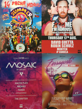 * IBIZA 2013 - 2017 * 10 PACHA Poster DIN A2 * new * Promotion