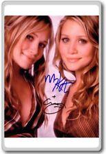 Mary Kate and Ashley Olsen Autographed Preprint Signed Photo Fridge Magnet