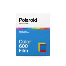 Polaroid 600 COLOUR Instant Film with COLOUR FRAMES 01/2020