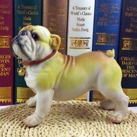 new Bulldog, English Bulldog dog resin figure figurine ye  Us un30