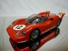 POLITOYS M 584 ABARTH 2000 - LUCAS RED 1:25  - GOOD CONDITION (FIAT)