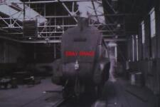 PHOTO  LNER A BIT OF A MYSTERY GRESLEY A4 PACIFIC 60024 'KINGFISHER' STANDS INSI